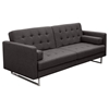Opus Convertible Sofa - Tufted, Gray - DS-OPUSSOGR