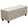 Park Ave Lift-Top Storage Trunk - Tufted, Desert Sand - DS-PARKAVETRSD