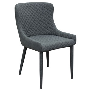 Savoy Accent Chair - Graphite (Set of 2)