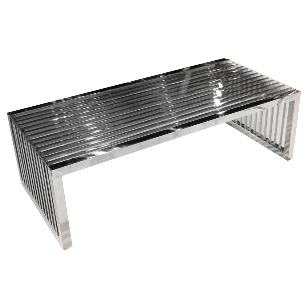 Metal Square Coffee Table With Glass Top And Triangular: Soho Rectangular Cocktail Table
