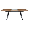 Tempo Extension Dining Table - Espresso, Black - DS-TEMPODTWA