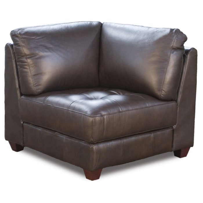 Zen Leather Square Corner Chair - DS-ZENSQCORNERCHAIRX