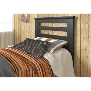 Kids Headboard - Black Brown