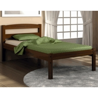 Elbert Wooden Econo Platform Bed - Espresso Finish