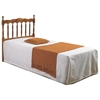 Annalise Spindle Headboard - Scalloped Rail, Honey - DONC-704-H