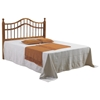 Arabesque Full Size Headboard - Double Camelback Rail, Honey - DONC-710FH