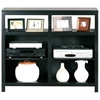 Adler Tall Birch Wood TV Stand - Open Shelves - EGL-12542-15542