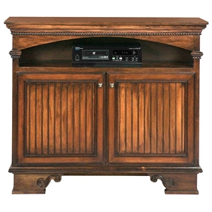 "American Premiere 49"" Media Console - 2 Doors, Bracket Feet"