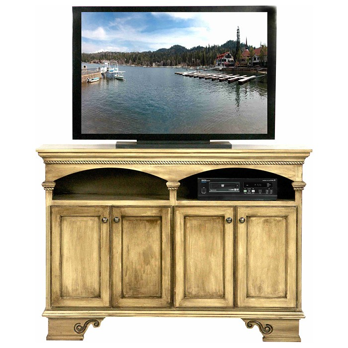 "American Premiere 58"" Media Console - 2 Shelves, 4 Doors - EGL-16055"