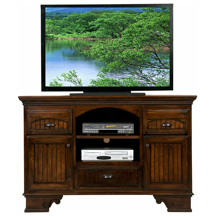 "American Premiere 58"" Media Console - 2 Shelves, 3 Drawers - EGL-16057"