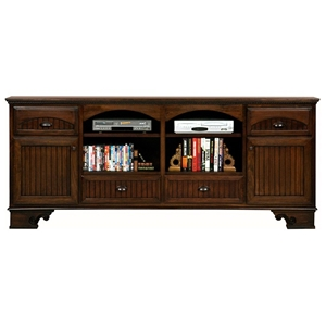 "American Premiere 90"" TV Console - 2 Doors, 4 Drawers"