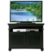 American Premiere 2-Door TV Console - Carved Rope, Bun Feet - EGL-16145