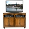 "American Premiere 58"" TV Console - Carved Rope, Bun Feet - EGL-16155"