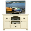 American Premiere 3-Drawer TV Cabinet - Bead Board, Bun Feet - EGL-16157