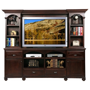 American Premiere 4-Drawer Entertainment Center - Bun Feet
