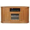 Classic Oak 56 Tall Corner Tv Cabinet 1 Open Shelf