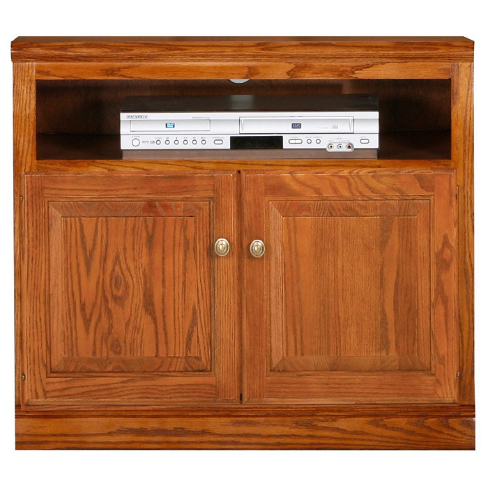 Classic Oak 30 Quot Tv Cabinet 1 Shelf 2 Doors Dcg Stores