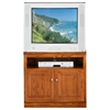 "Classic Oak 30"" TV Cabinet - 1 Shelf, 2 Doors - EGL-46830"