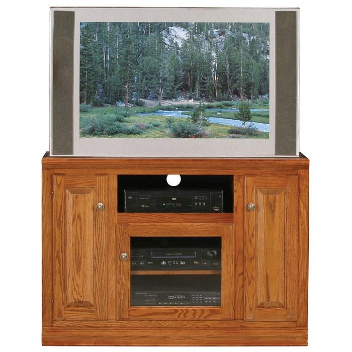 Classic Oak Thin 45 Quot Tv Cabinet 1 Open Shelf 3 Doors