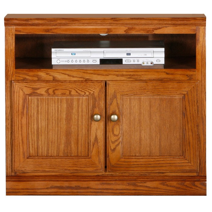 "Heritage 30"" TV Cabinet - Bead Board, Oak Wood - EGL-47830"