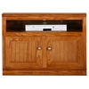 "Heritage 39"" TV Cabinet - Bead Board, Oak Wood - EGL-47838"