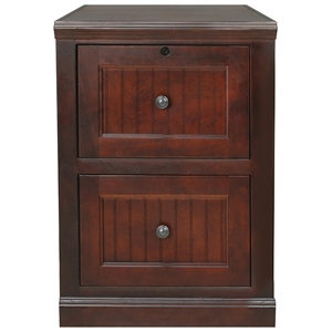 Coastal 2-Drawer File Cabinet - Locking Drawer