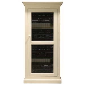 Coastal Media Tower / Display Unit - Glass Door