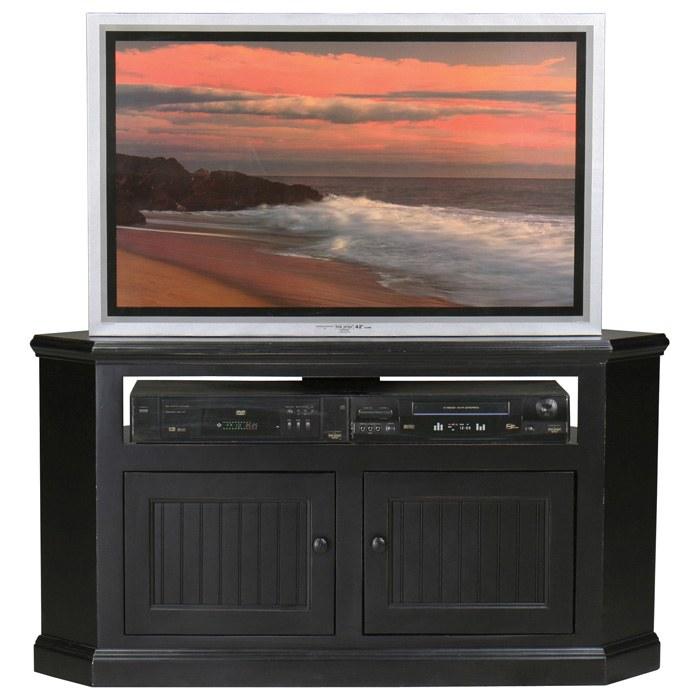 Coastal 50 Quot Corner Tv Cabinet Open Back Shelf Dcg Stores
