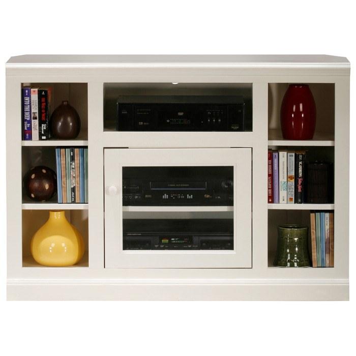 """Coastal Thin 45"""" Corner TV Cabinet - Glass Door"""