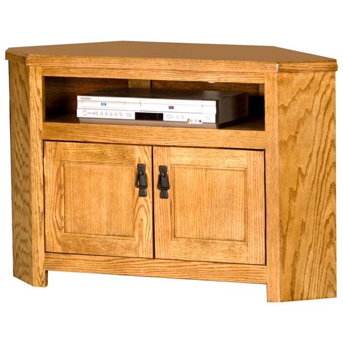 Mission 40 Quot Corner Tv Cabinet Metal Door Pulls Dcg Stores
