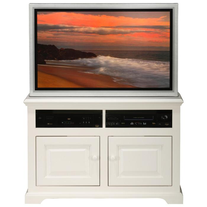 "Savannah 40"" TV Cabinet - Raised Panels, Birch Wood"