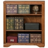Oak Ridge 3-Shelf Wooden Bookcase - Fluting - EGL-93336
