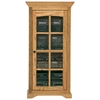 Oak Ridge Media Tower / Display Unit - Glass Door - EGL-93500
