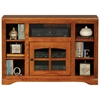 "Oak Ridge Thin 45"" TV Console - Windowpane Glass Door - EGL-93543"