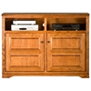 "Oak Ridge 55"" Media Cabinet - Raised Panels, Fluting - EGL-93559"