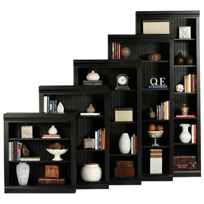 Coastal 4-Shelf Bookcase - Bead Board - EGL-72360