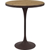 Drive Round Bar Table - Brown - EEI-2652-BRN-SET