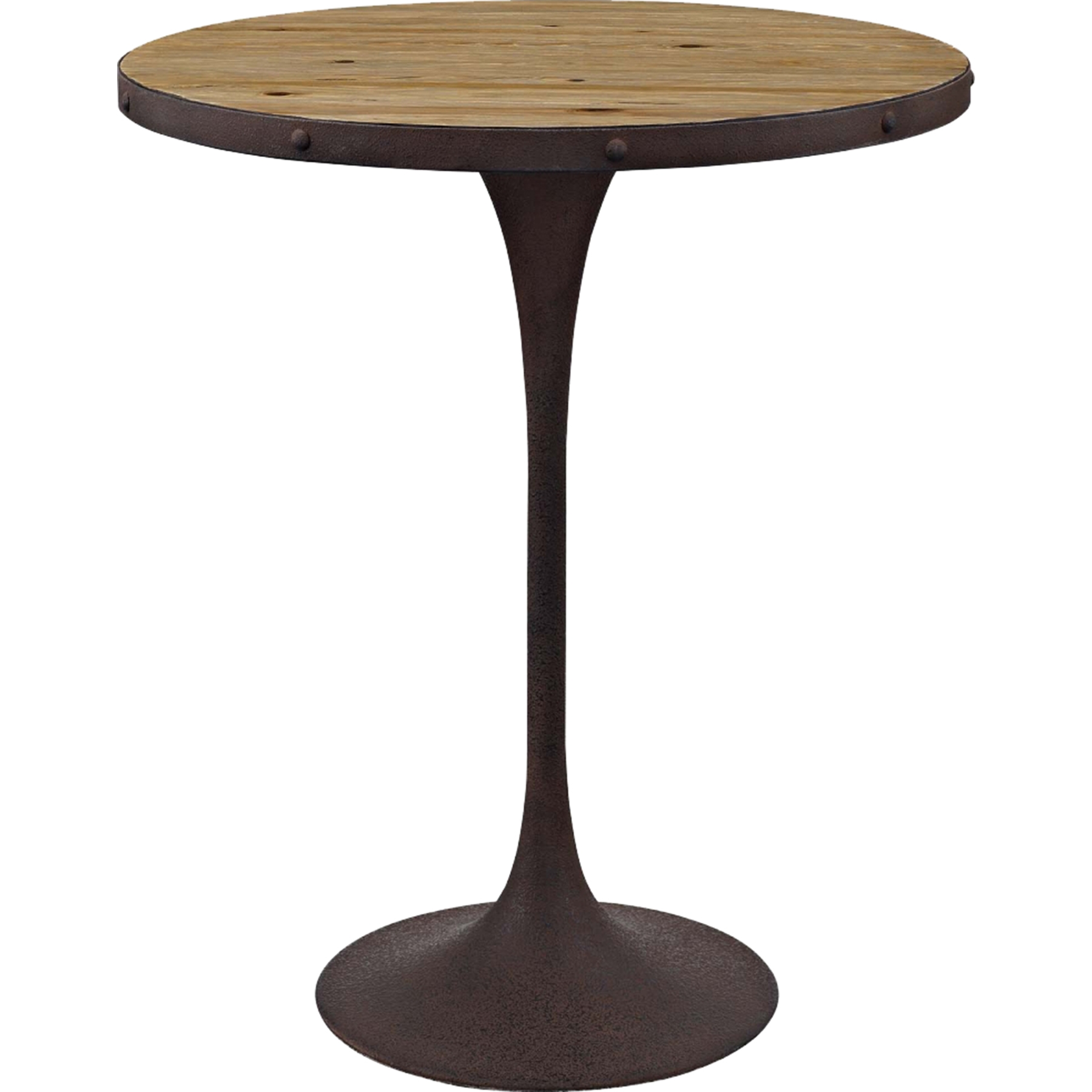 Drive Round Bar Table   Brown