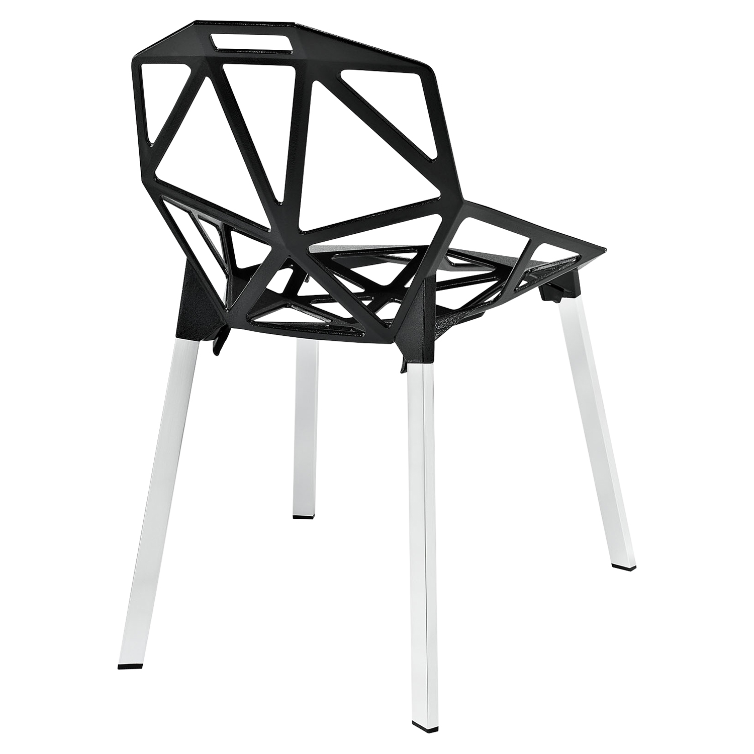 Connections Dining Side Chair - Black - EEI-1016-BLK