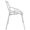 Connections Dining Side Chair - White - EEI-1016-WHI