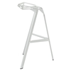 Launch Aluminum Stacking Bar Stool - White (Set of 4) - EEI-1363-WHI
