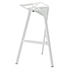 Launch Stacking Backless Bar Stool - White - EEI-1024-WHI