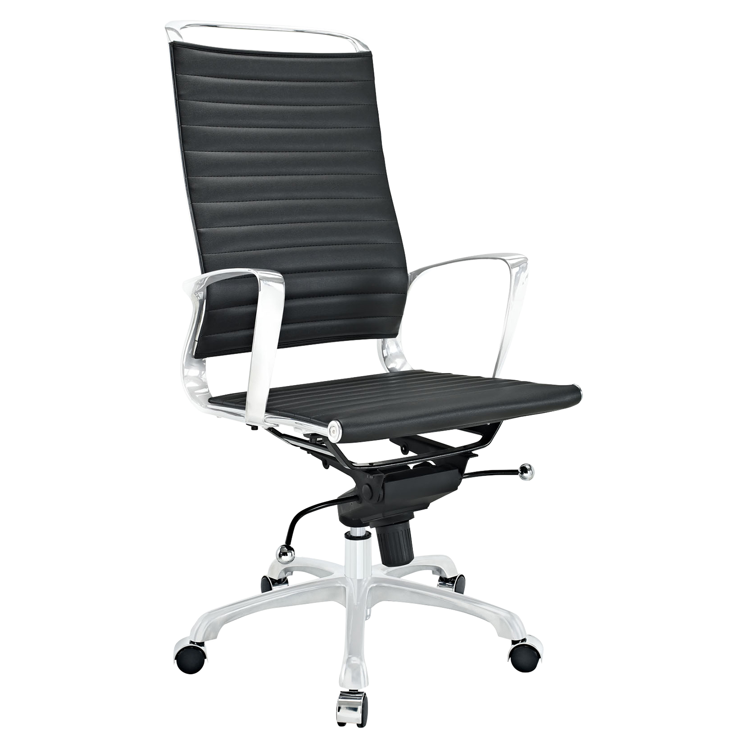Tempo High Back Office Chair - Adjustable Height, Swivel, Armrest - EEI-1025