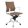 Tempo Mid Back Office Chair - Adjustable Height, Swivel, Armrest - EEI-1026