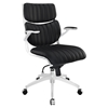 Escape Mid Back Office Chair - Adjustable Height, Swivel, Armrest - EEI-1028
