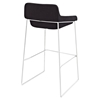 Garner Backless Bar Stool - Black - EEI-1029-BLK