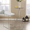 Garner Backless Bar Stool - White - EEI-1029-WHI