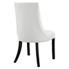 Noblesse Leatherette Dining Chair - White (Set of 2) - EEI-1298-WHI