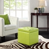 Volt Storage Tufted Ottoman - Light Green - EEI-1044-LGN