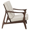 Paddle Brown Lounge Chair - EEI-1048-BRN